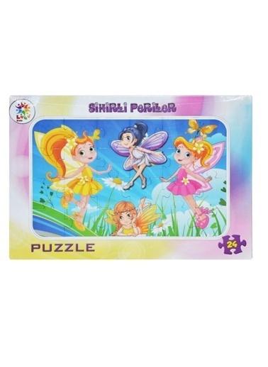 Laço Kids Sihirli Periler 24 Parça Frame Puzzle Lcfrm003  Renkli